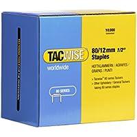 Tacwise 0384 - Grapas galvanizadas de tipo 80/12 mm