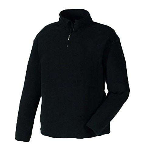 Preisvergleich Produktbild teXXor Microfleece-Pullover Stavanger Arbeitsjacke Basic, L, schwarz, 8717