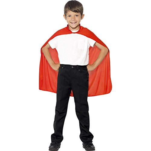 Rot - Kinder Superheld Kostüm Helden Kostüm Jungen Superman Umhang Superhero Cape Outfit Roter Kinderumhang (Kinder-superman-outfit)