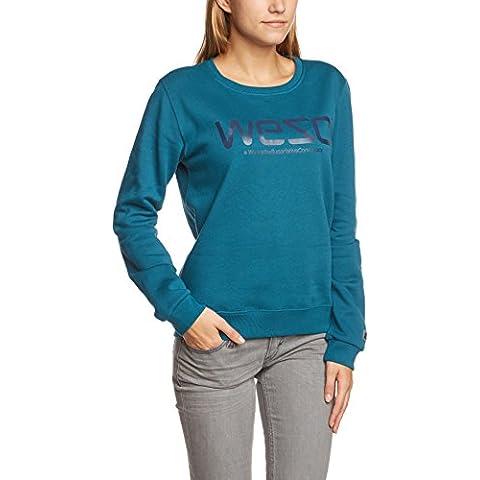 WESC  - Sudadera deportiva para mujer azul Blue Steel Talla:S