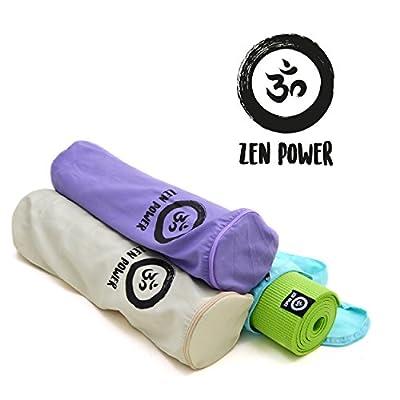 Zen Power - Yoga-Tasche aus Baumwolle - praktischer Yoga-Beutel - 63x25cm