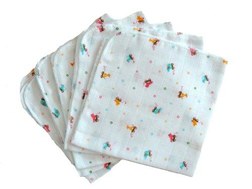 BabyMajaWelt - Pannolini lavabili premium, in garza, 40 x 40