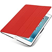 "iPad PRO 12.9"" Hülle - VEO Ultra Dünnes Smart Cover mit Stand & Schlaf-Funktion für iPad PRO 12.9"", ROT"