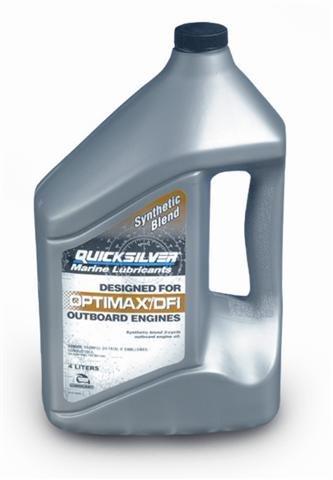 Quicksilver 2temps OptiMax Performance DFI Huile pour moteurs marins 4L