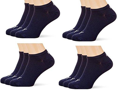PUMA Unisex Sneakers Socken Sportsocken 12er Pack navy 39/42