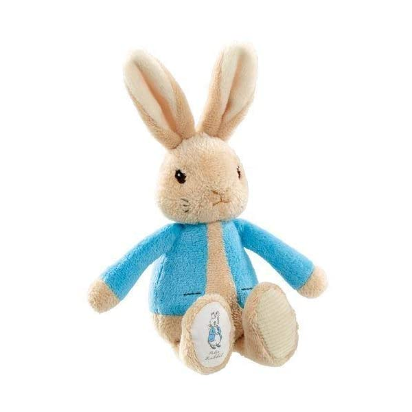 Beatrix Potter My First Bean Rattle- Choose from Peter Rabbit or Flopsy Bunny (One Supplied) (PETER RABBBIT) by Beatrix Potter