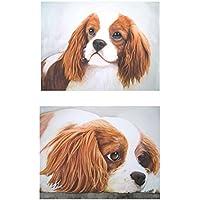Ihre Katze oder Hund als Kunstwerk! 2 Bilder in Einem - Diptychon, nach Ihrer Fotovorlage