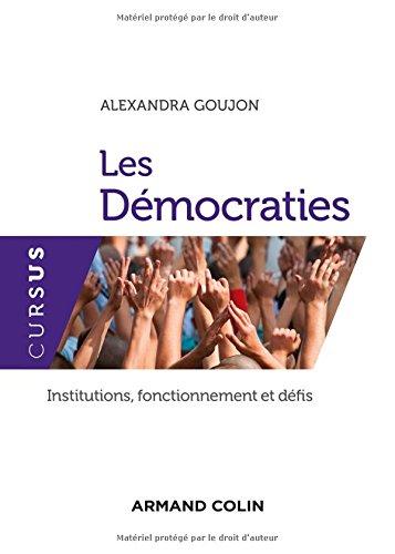Les démocraties par Alexandra Goujon