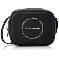 Calvin Klein Sculpted Camera Bag, Black, 17 cm, K60K606160