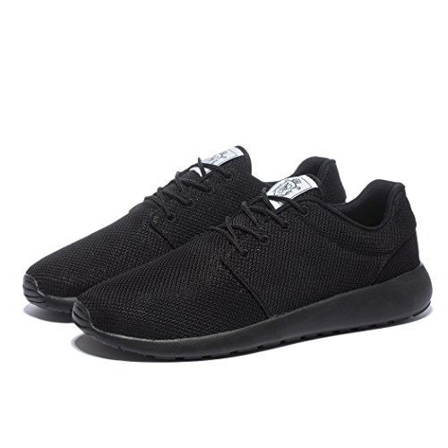 Walking breathing air Mesh amp; Sneakers Damen Allblack Daillor Laufschuhe Herren 4qwI0