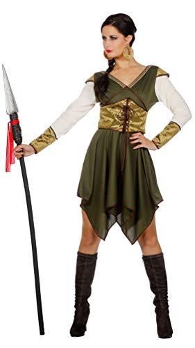 Karneval-Klamotten Robin Hood Kostüm Damen Lady Marian Mittelalter Damen-Kostüm Größe 38