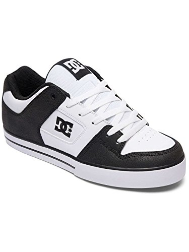 Dc Shoes Pure M Shoe Noir - Black/White/Black Para Barato Ko4nM2Av