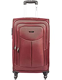 Safari Polyester 54.5 cms Red Softsided Carry-On (Tergo-57-Red-4wh)