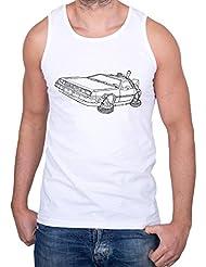 DMC 12 Camiseta de tirantes para hombre Back To The Future