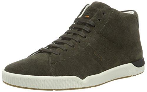 Boss Orange Stillnes_Midc_Sd 10193528 01, Sneakers Hautes Homme Vert (Dark Green 301)
