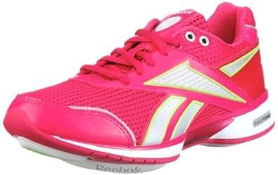 Reebok Easytone Reecommit 150321, Damen Sportschuhe - Fitness, Pink (uberberry/pure silver/sushi green/steel 43), EU 38.5 (UK 5.5)