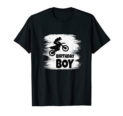 Herren Birthday Boy Motocross Geburtstag Dirt Bike Enduro T-Shirt