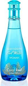 Davidoff Cool Water Coral Reef Femme Woman Eau de Toilette Spray 100 ml
