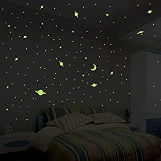 Ambiance Milky Way Glow Stickers 390 Stars and Planets