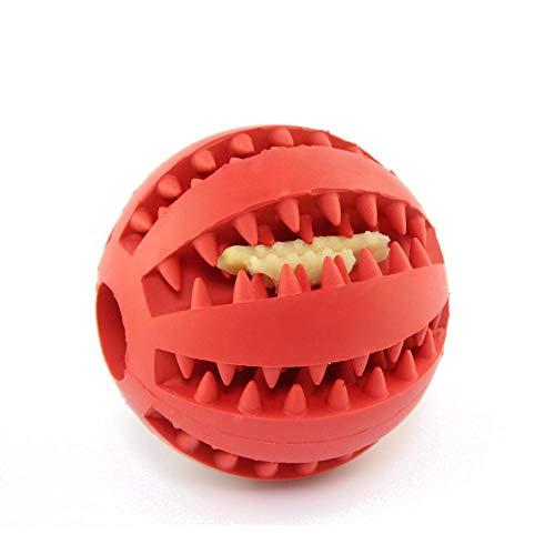 Flip Board - Gioco Interattivo,Puzzle per animali che perde palla alimentare, palla di gomma elastica con morso, giocattolo alimentare mancante multifunzione @ red_7cm,Design duri Giochi interattivi