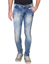 Flying Port Men's Slim Fit Stretchable Jeans