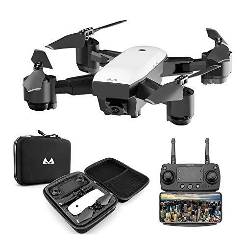 Goolsky SMRC S20 RC Drone 1080P WiFi FPV grandangolare Fotocamera Altitudine Tenere premuto Un Tasto Ritorno Quadcopter per Principianti Formazione Regalo di Nat