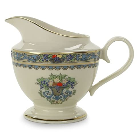 Lenox Autumn Gold-Banded Fine China Creamer by Lenox