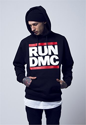 Run DMC Logo Hoody black M