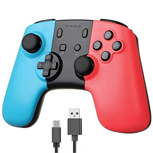 Faithful Hot Sale For Nintend Switch Pro Ns Switch Game Console Bluetooth Wireless Gamepad Controller Joystick Abs Anti-slip Gamepad Consumer Electronics Gamepads