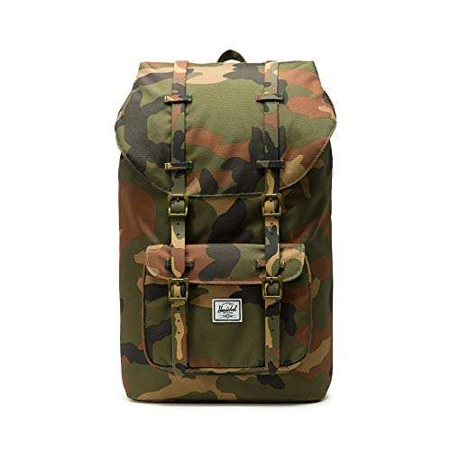 f08ac5915012c Herschel Little America Backpack Rucksack 49.5 cm Woodland camo