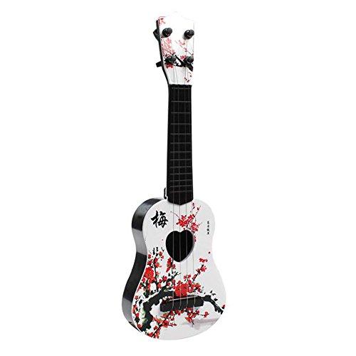 Chinesische Stil Pflaume Blüte Spielzeug Gitarre Ukulele mit lebendigen Sounds Kinder pädagogischen Spielzeug