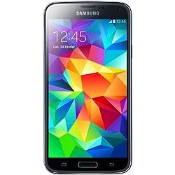 Samsung Galaxy S5 Smartphone débloqué 4G (Ecran: 5.1 pouces - 16 Go - Android 4.4.2 KitKat) Noir
