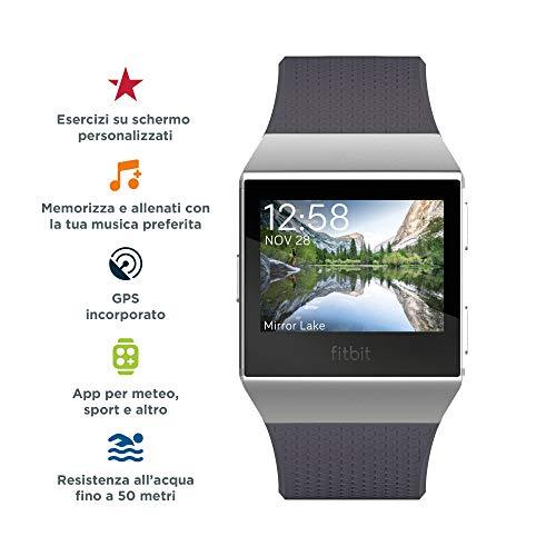 Zoom IMG-1 fitbit ionic fitness smartwatch blu