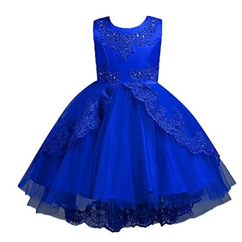 Amphia - Baby Mädchen Kleidung Sets Prinzessin Tüllrock Tutu Rock - Kinder ärmelloses Kleid aus Bow Mesh-Rock,(3J-8J)