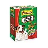 Bonzo Liebl.-Knochen 1,5kg, Hundesnack, Kauknochen