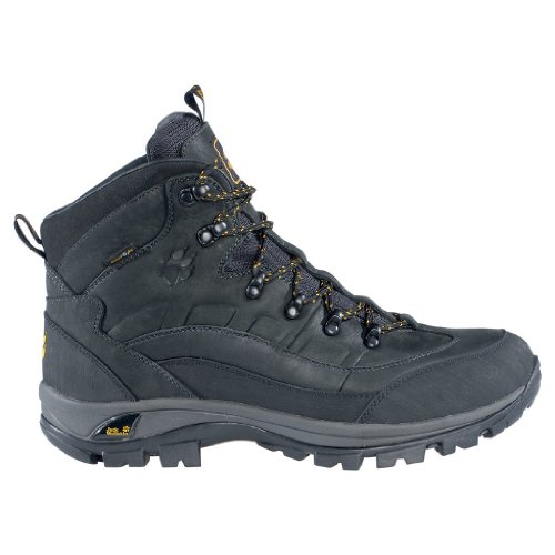 Jack Wolfskin Schuhe Solid Trail TEXAPORE Men. Geöltem Vollnarbenleder. Wasserdicht und atmungsaktiv. Gr. 45.5