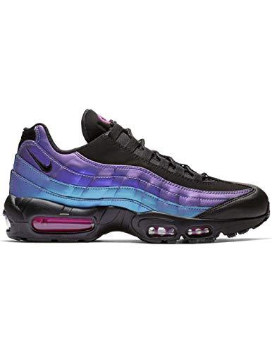 sale retailer e5434 4bc1c Nike Air Max 95 Prm Sneaker Men Black Black-Laser Fuchsia 538416 021 (