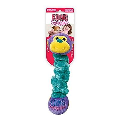 KONG Squiggles Dog Toy - Medium, Purple