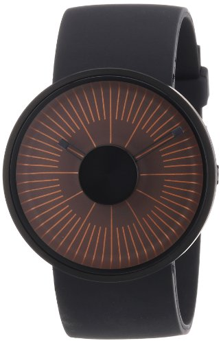 odm-hacker-unisex-quartz-watch-with-brown-dial-analogue-display-and-black-silicone-strap-my03-10