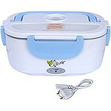 HJL comida térmico Lunch Box Fiambreras bento EU-enchufe eléctrica con Bandeja extraíble acero inoxidable