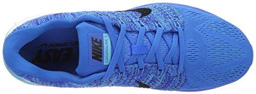 Nike Herren Lunarglide 7 Laufschuhe, Weiß, Medium Blau (Blau (Photo Blue/Black-Gmm Bl-Cncrd))
