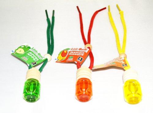 Mix di frutta profumata Trio 3Elegante flakons Little Bottle profumata a 1x ciliega, Mango e vaniglia a 4,5ml auto profumo casa profumata da 5ml