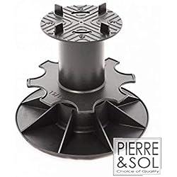 Plot de Terrasse pour Dalle, Réglable 150-190mm chez Pierre et Sol