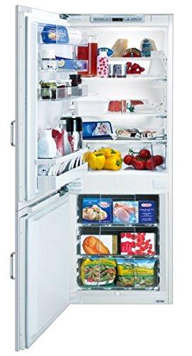 SIBIR Duo Eco Swiss Einbaukühlschrank 252L A++ weiß Kühlschrank und Gefrierfach 252 Liter A++...