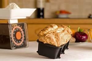 SiliconeCuisine - Moule à cake / pain / terrine de qualité professionelle - 19cm x 9cm x 5cm - anti-adhésive - 10 ans de garantie