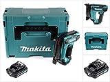 Makita PT 354 DA1J 10,8 V Akku Stiftnagler im Makpac + 1 x 2,0 Ah Akku - ohne Ladegerät