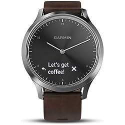 Garmin Vivomove HR Premium Monitor Actividad, Plata, Sin Especificar