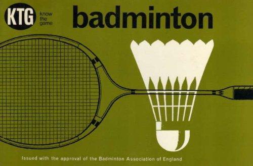 Badminton (Know the Game) por Badminton Association of England