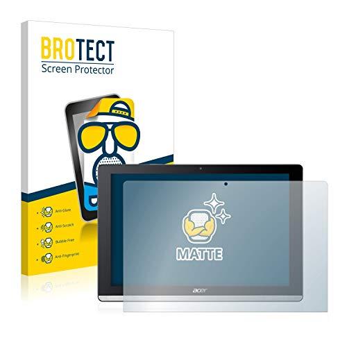BROTECT Entspiegelungs-Schutzfolie kompatibel mit Acer Iconia One 10 B3-A50 (2 Stück) - Anti-Reflex, Matt