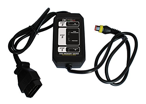 BC Battery Controller 709OBDMS Dispositivo Salva-Memorie per Sostituzione Batteria Auto per Collegamento a Presa OBD